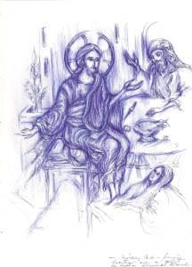Femeia ce pacatoasa care a spalat cu lacimi si a uns cu mir picioarele Domnului - Copy